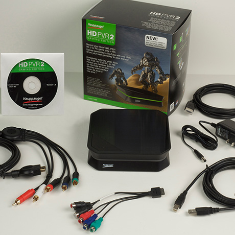 HD PVR 2 Gaming Edition package contents