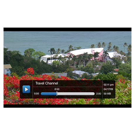 MediaMVP-HD video screen